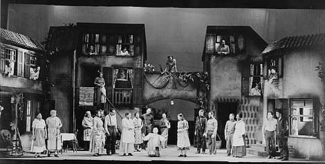 "Scene from ""Porgy and Bess,"" 1935-1936. Theater Guild production"